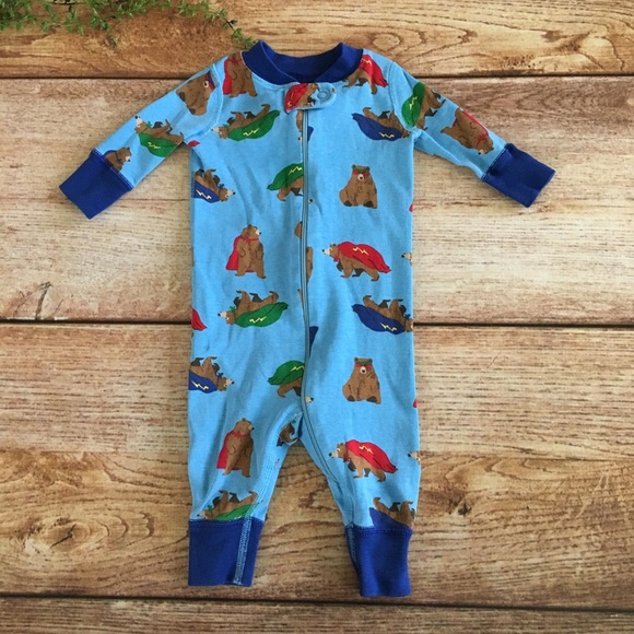 Hanna Andersson Other - Hanna Andersson footless super bears pajamas 9a6927ea7